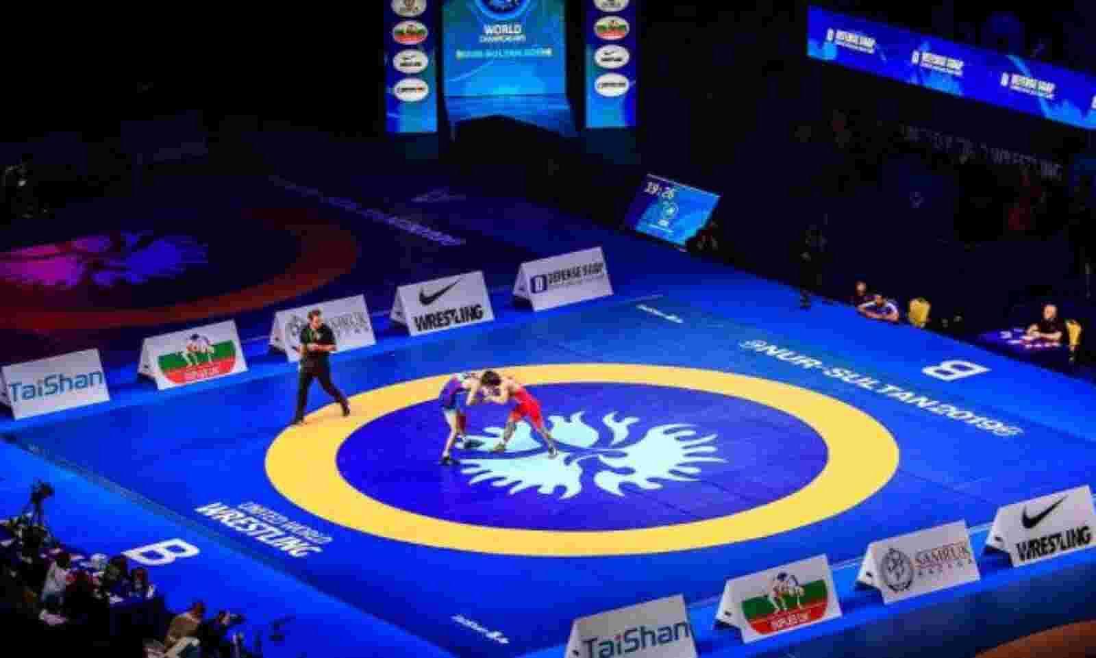 World wrestling meet