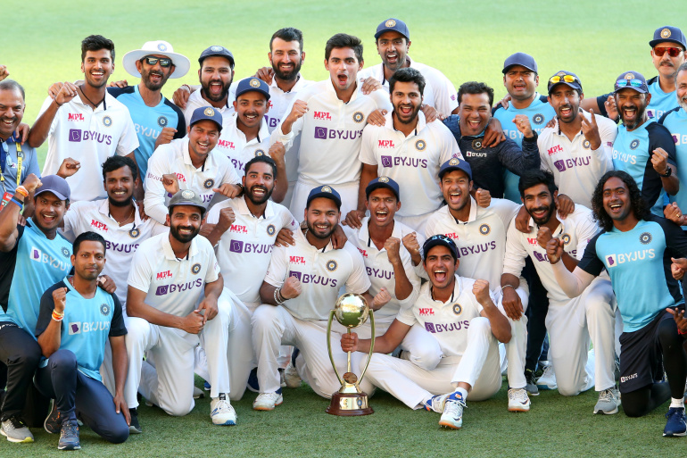 india win test