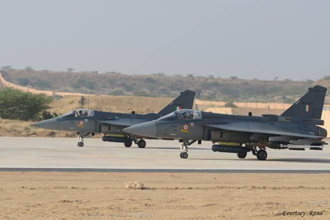tejas and air force