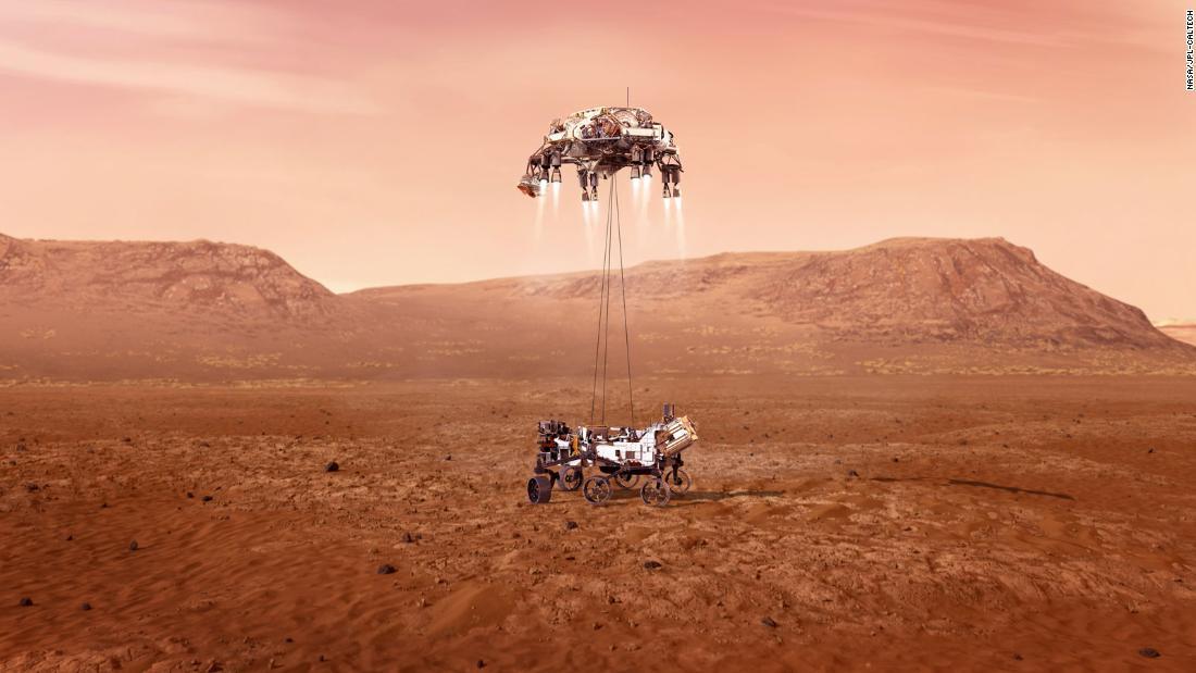 nasa and perseverance rover