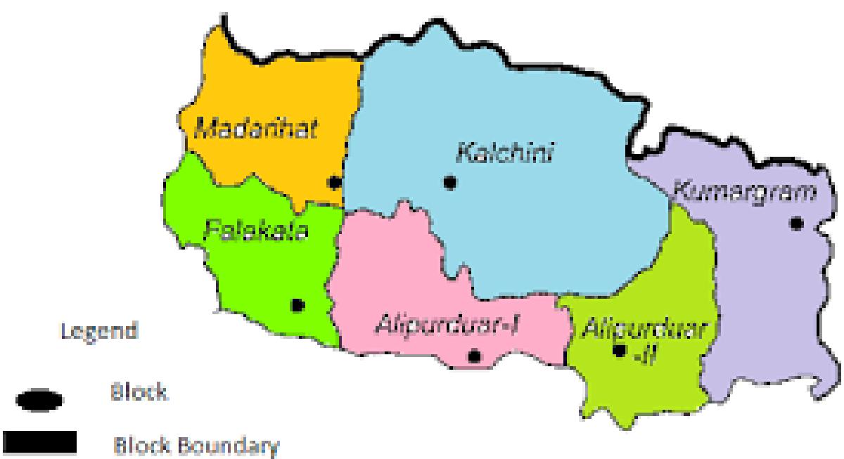 Alipurduar Map