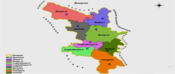 Jhargram-District-Map