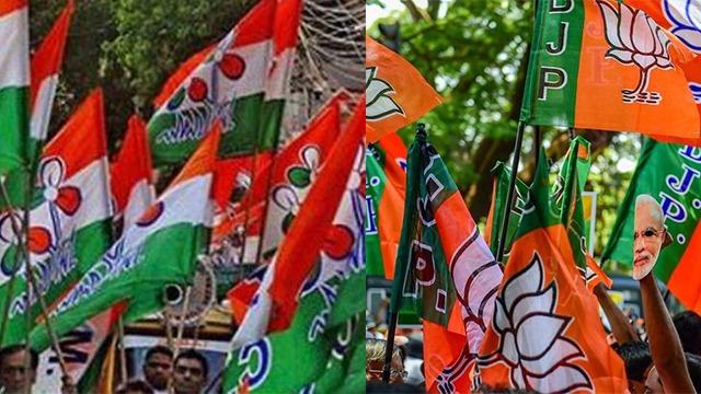 TMC-BJP Flag-1