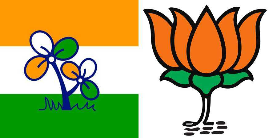 TMC-BJP Flag-2