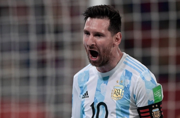 messi and record